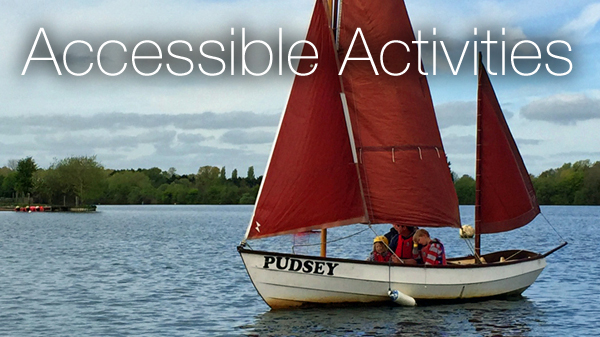 Accessible and Inclusive courses at South Cerney Outdoor