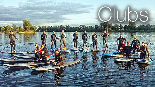 Water Sports Clubs for Kayaking, SUP, Sailing and Windsurf