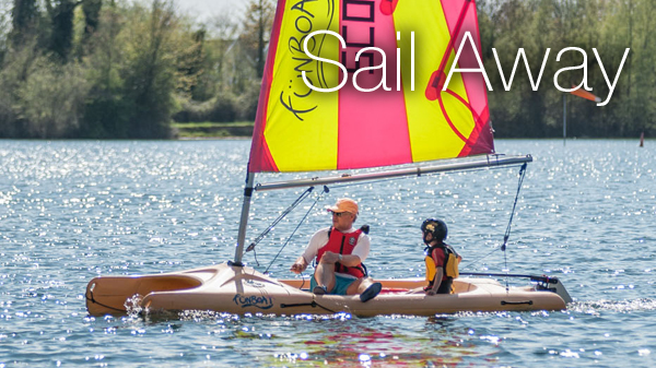 Sailing boat hire Cotswolds