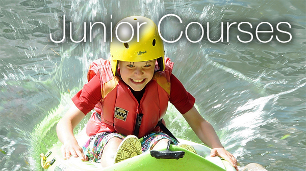 Junior water sports courses