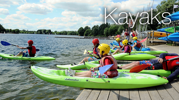 Kayak hire in the Cotswolds