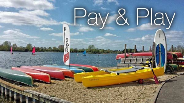 Paddleboard Kayak Canoe and Dinghy hire in the Cotswold Water Park