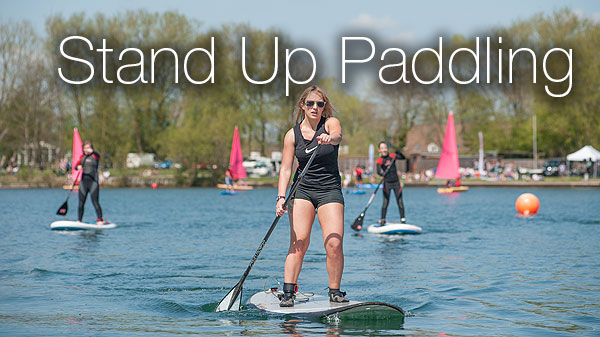 SUP in the Cotswolds