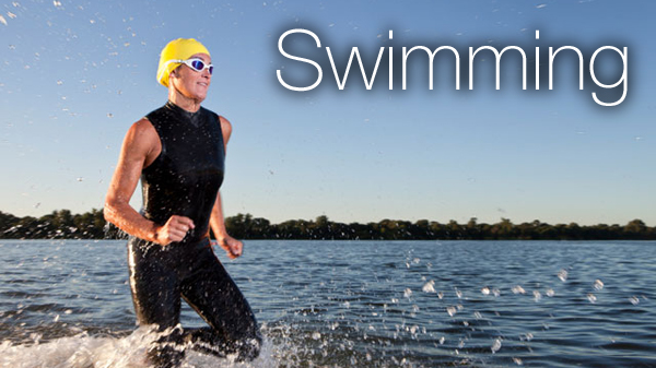 Open Water Swimming in the Cotswold Water Park