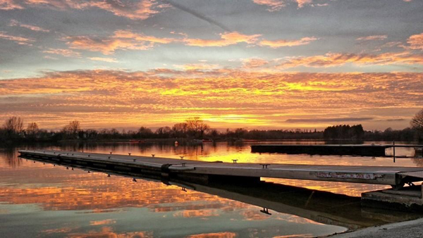 Enjoy a peaceful sunset at South Cerney Outdoor