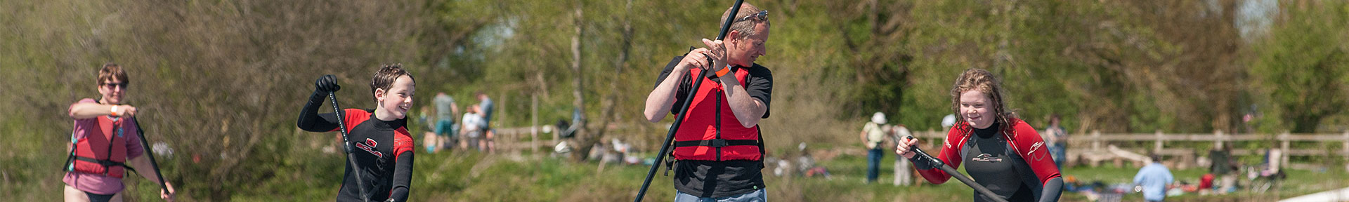 Stand up paddleboard hire in the Cotswolds