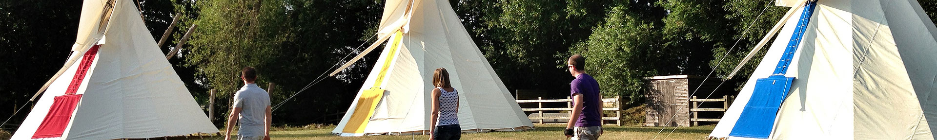 Tipi experiences in the Cotswolds