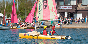 Children's water sports courses Gloustershire