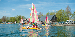 Sailing boat hire Wiltshire