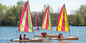 Water sports courses